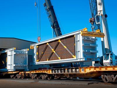 Horizon HRSG Module on Railcar