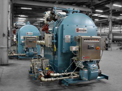 Osage Pair Digester Firebox Boiler